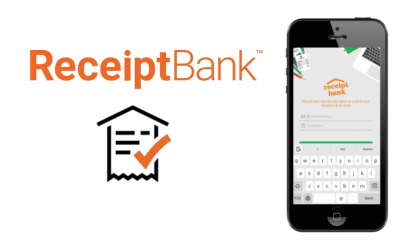 Receipt Bank invoicing to keep track of all your expenses and invoices