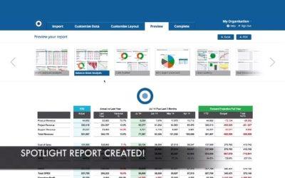 Spotlight Reporting integration with Xero