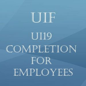 UIF – UI19 Completion for employees